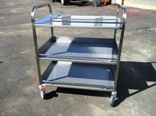 Small Shelved Trolleys