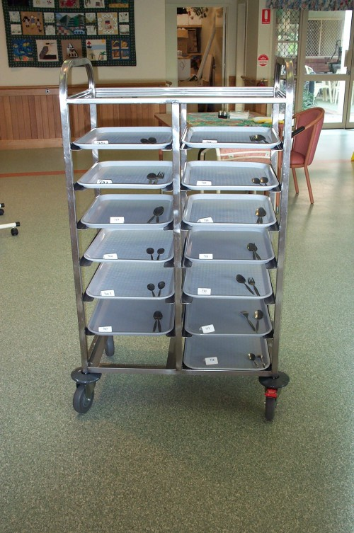 Kitchen Tray Trolleys